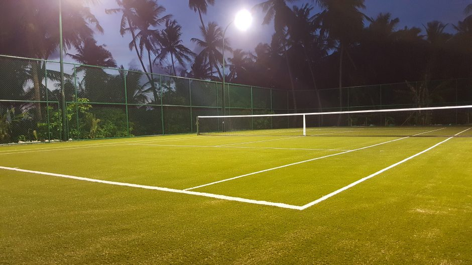 Projects sunglobal sports sun global sports has completed the largest outdoor multi sports facility in the maldives at constance moofushi the third powergame surface on sportbase aloadofball Images